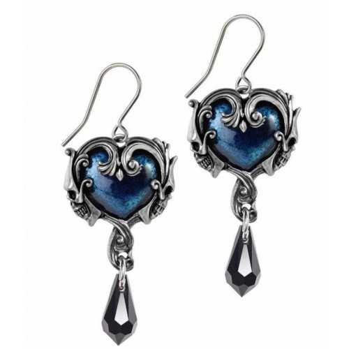 Alchemy Gothic Affaire du Coeur Droppers Earrings