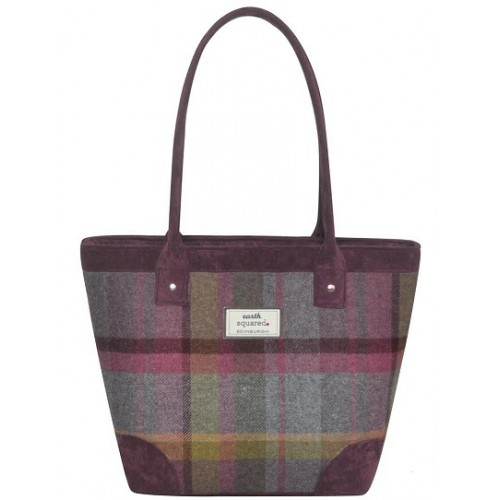Tweed Tote Bag Earth Squared