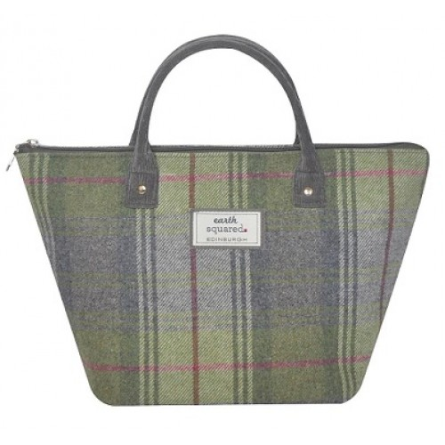 Tweed Tote Bag Small Earth Squared