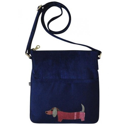 Cross Body Shoulder Block Bag Animal Applique Earth Squared