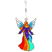 Angel Rainbow Suncatcher Shared Earth