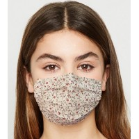 Face Mask Pleated Cotton