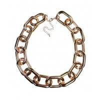 Chunky Chain Choker Necklace