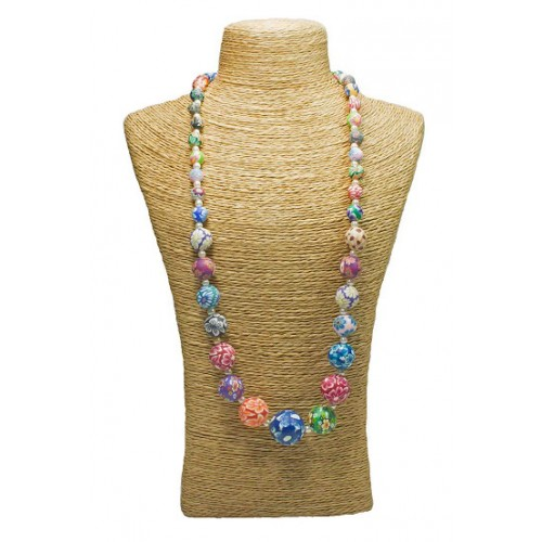 Floral Fimo Necklace